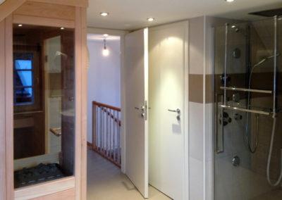 Sauna se zážitkovou sprchou